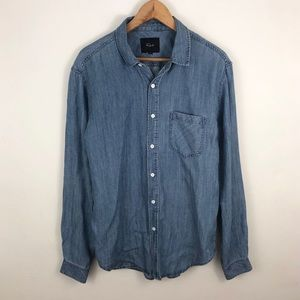 Rails Denim Chambray Button Down Shirt